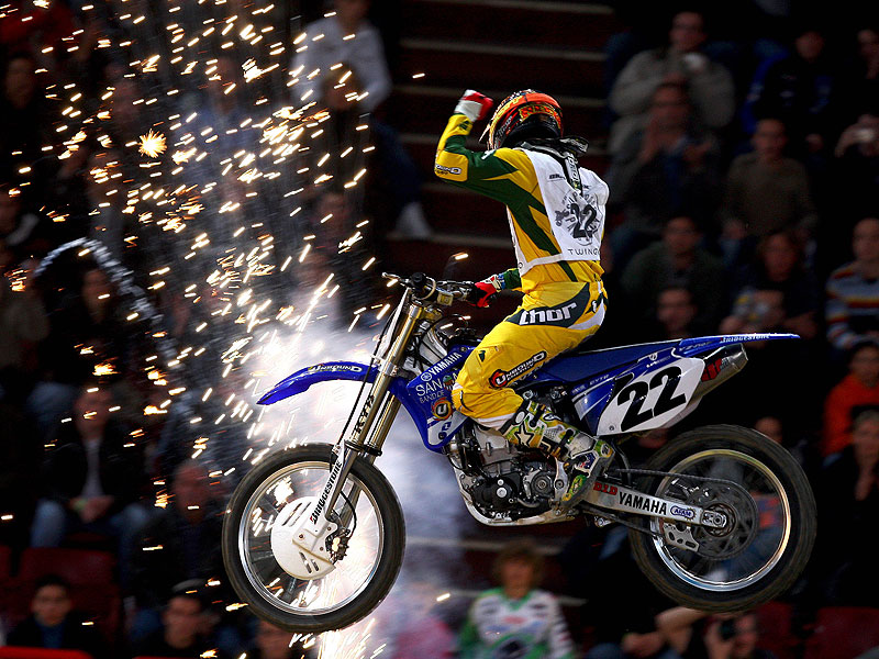 Chad Reed conquista París