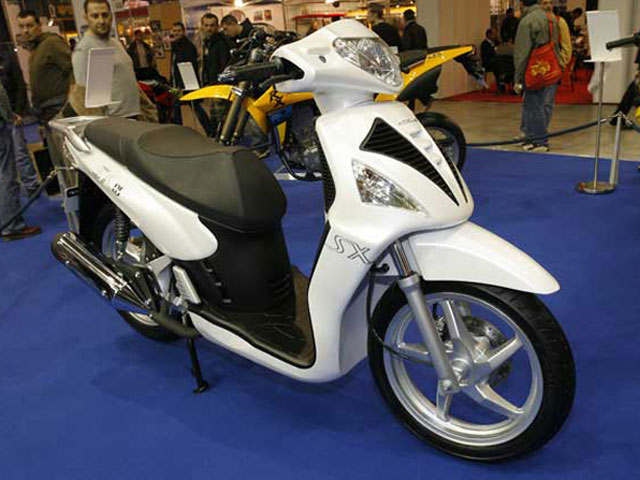 Novedades 2008: Hyosung SX 125