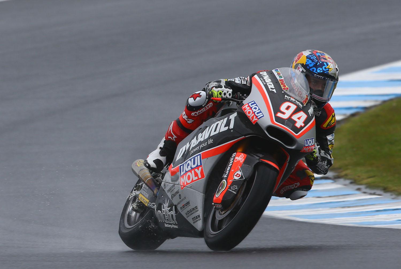 Jonas Folger es el más rápido en Australia en la única sesión que se pudo celebrar