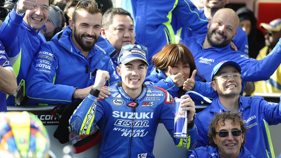 Suzuki ascenderá a la primera división de MotoGP en 2017