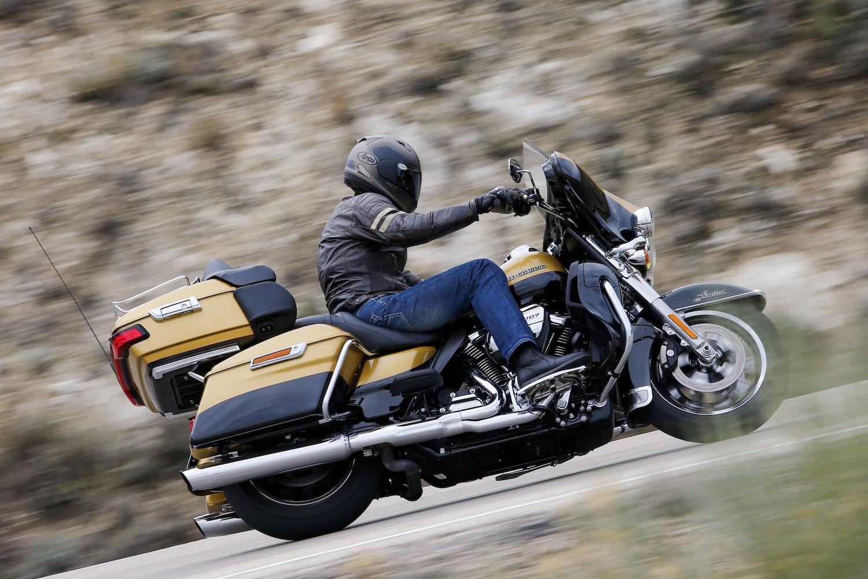 Harley-Davidson Twin-Cooled Milwaukee-Eight 107, en banco de potencia