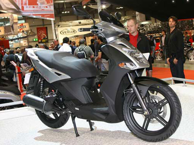 Novedades 2008: Kymco Agility City / People 300i / Xciting 300Ri