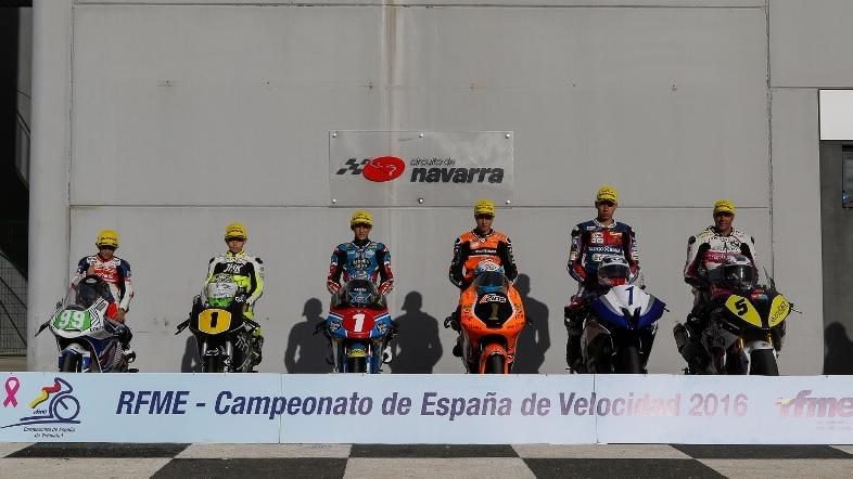 Estos son los campeones de España de velocidad 2016 de la RFME