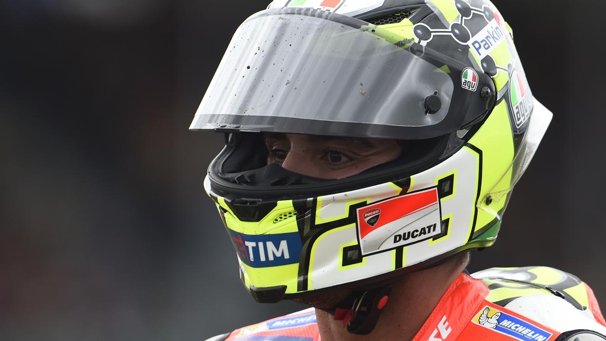 """Andrea Iannone: """"La decisión de correr en Sepang es mía, no de Ducati"""""""