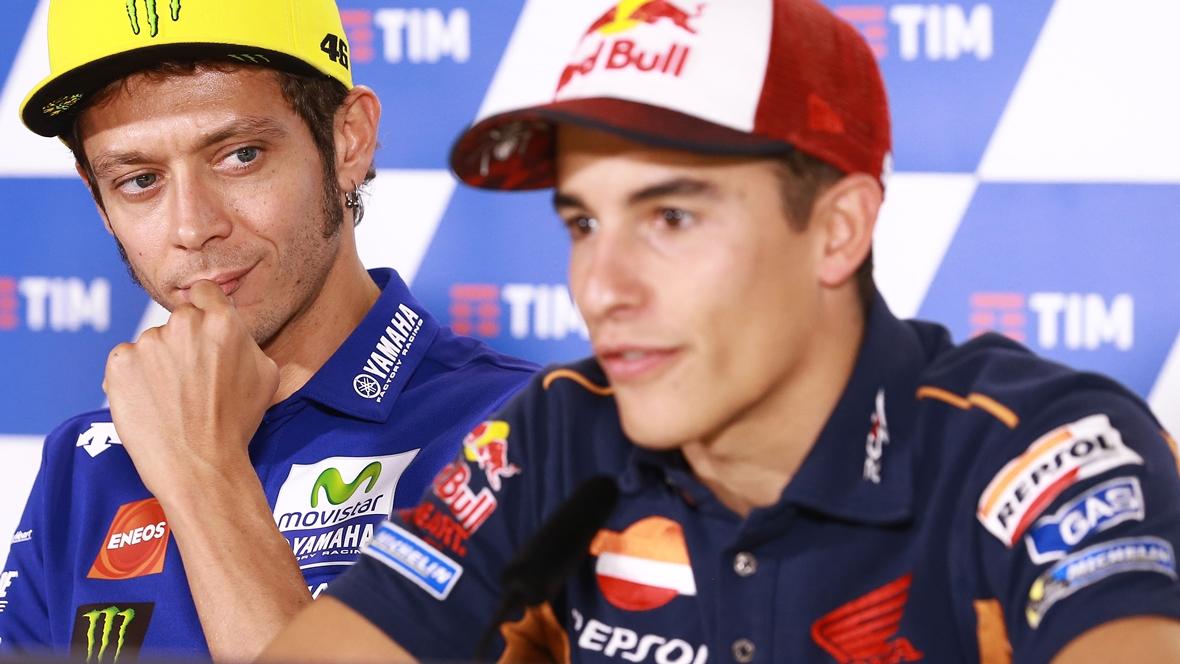 """Marc Márquez: """"Rossi y yo mantenemos la opinión de Sepang que teníamos hace un año"""""""