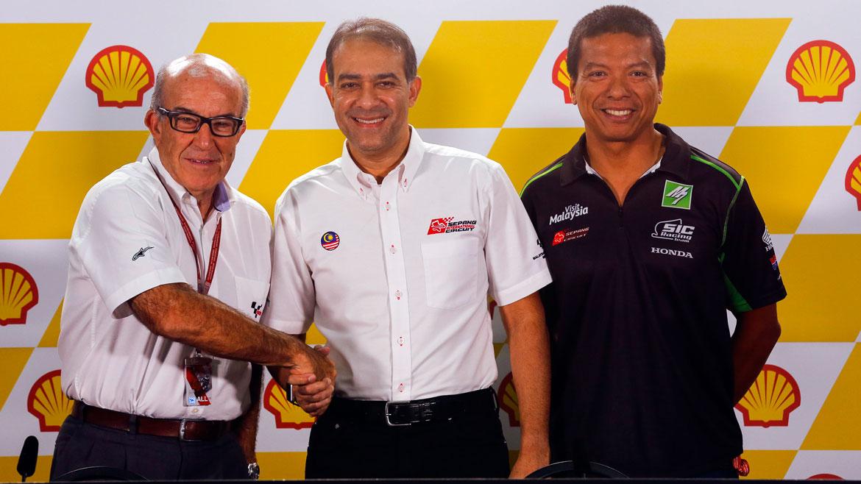 Sepang renueva con MotoGP hasta 2021