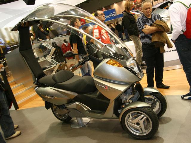 Novedades 2008: Vectrix 3W