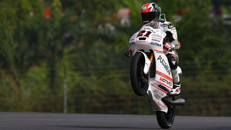 Pecco Bagnaia gana un accidentado GP de Malasia