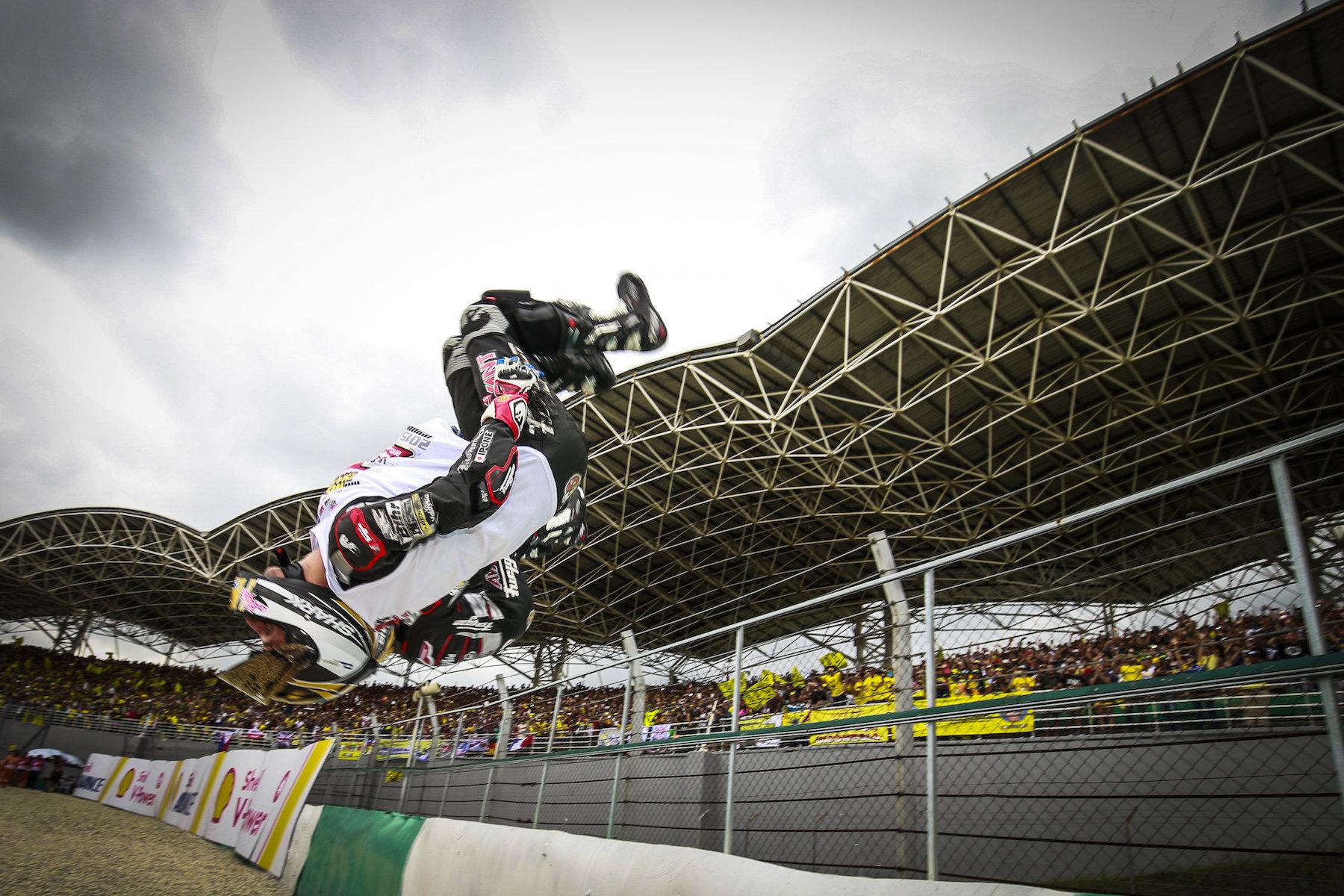 Johann Zarco se proclama bicampeón del mundo de Moto2