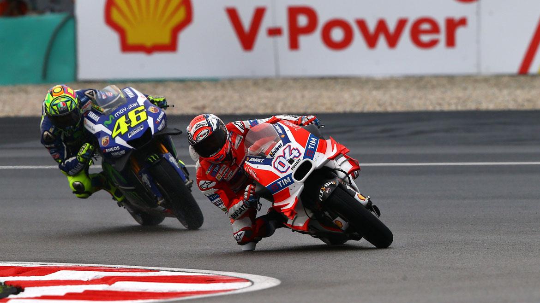 """Valentino Rossi: """"No quería fallar, hacer segundo era importante"""""""
