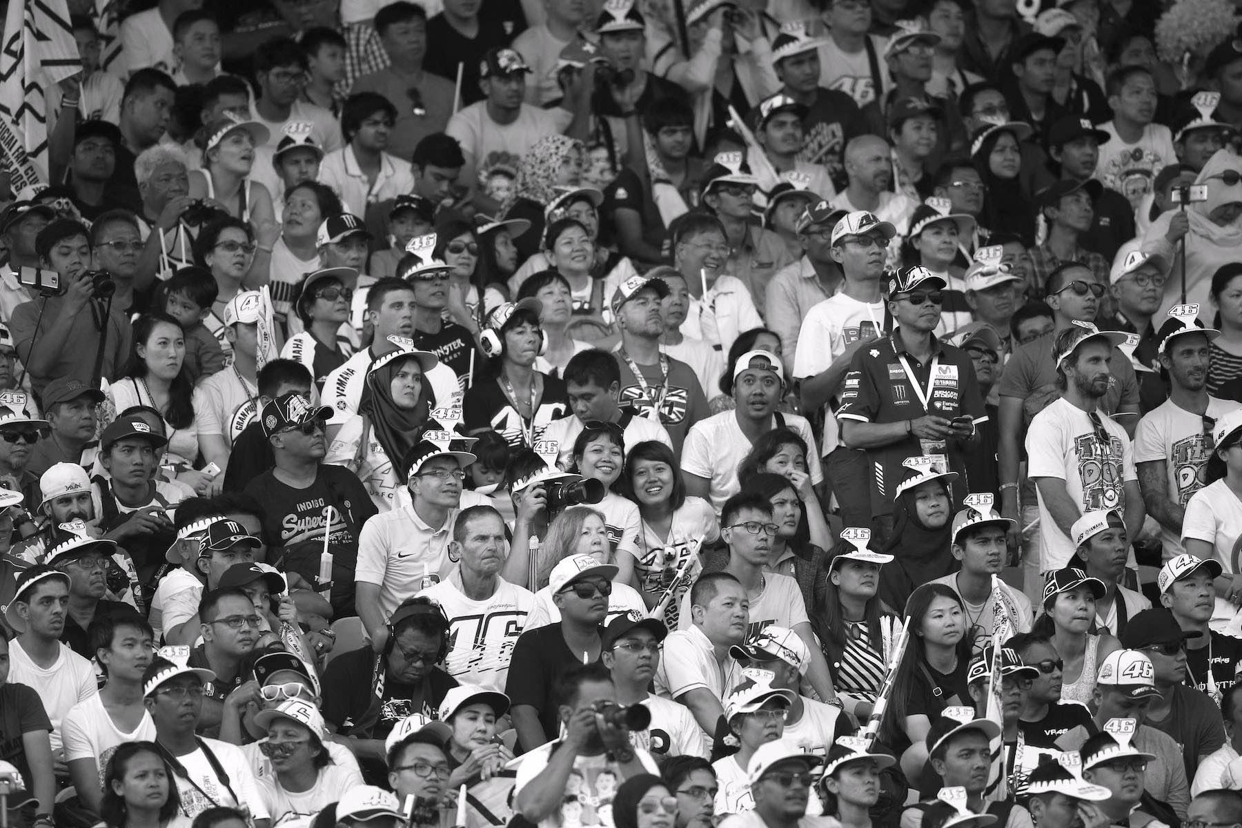 Lamentable comportamiento de la afición en el GP de Malasia