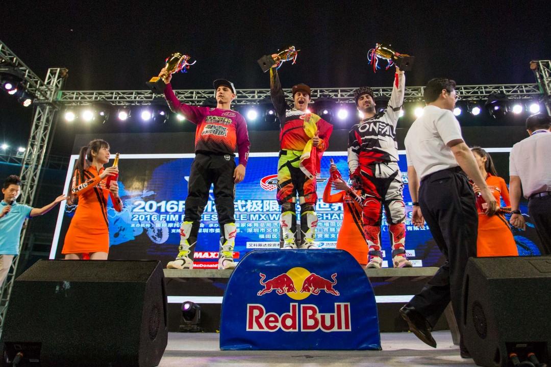 Maikel Melero se proclama Campeón del Mundo de FMX