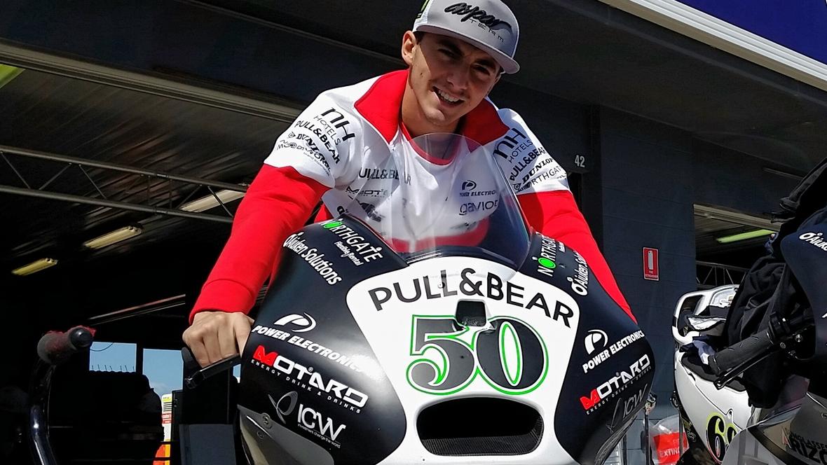 Pecco Bagnaia sueña con el test que hará con la Ducati de MotoGP