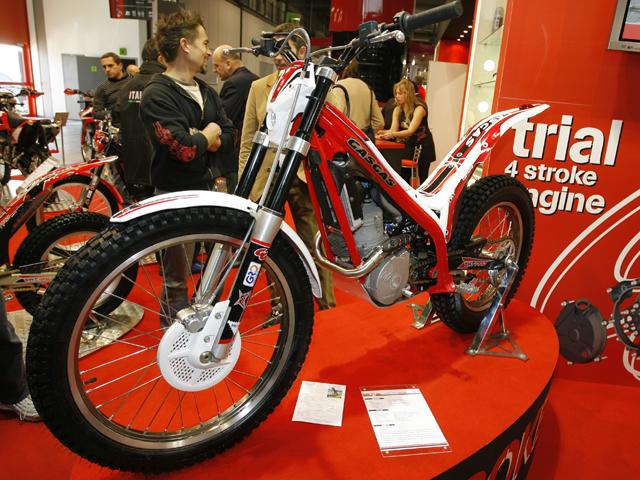 Gas Gas presentó su moto de trial 4 Tiempos