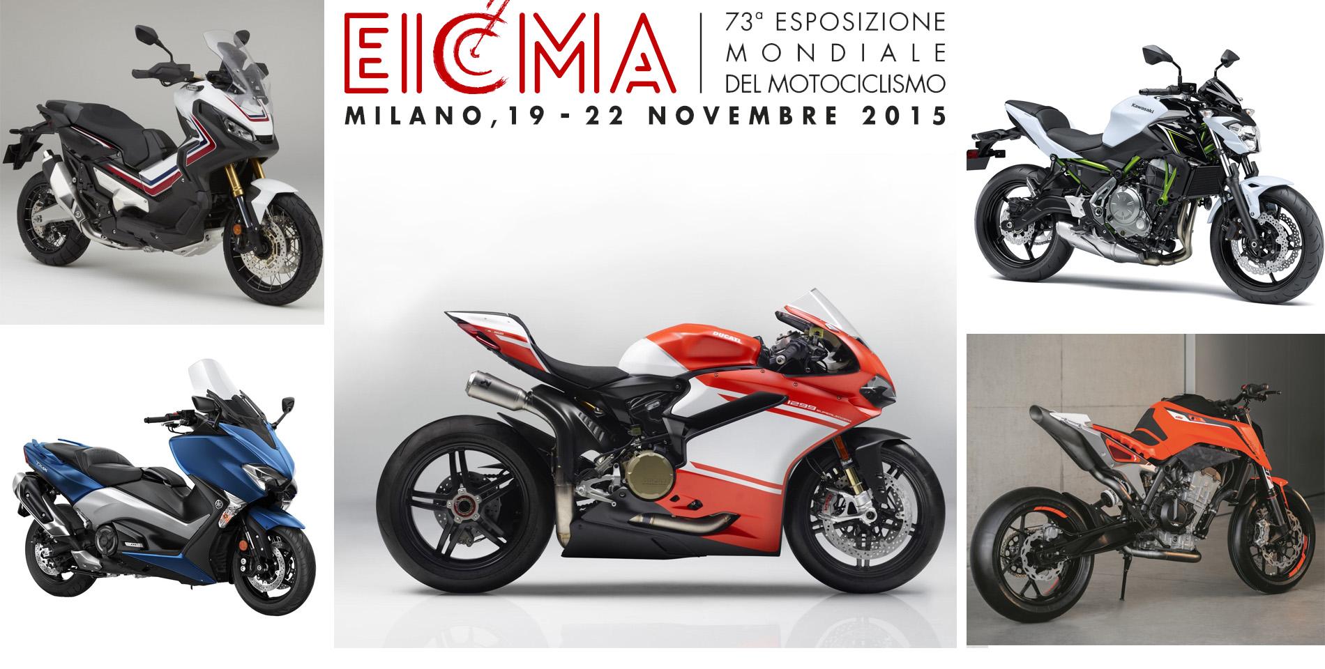 EICMA 2016: Novedades Motos 2017 presentadas en Milán