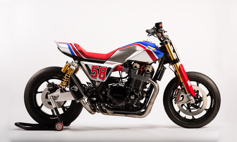Honda CB1100 TR, magnífica flat tracker en el EICMA