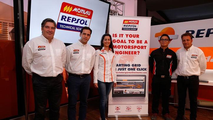 Primer Máster Online para ser Ingeniero de Motor, por Monlau Repsol