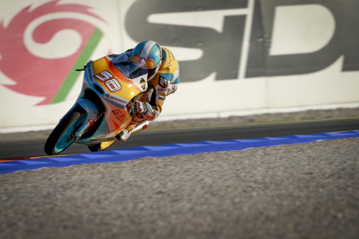 MotoGP Valencia 2016, Juanfran Guevara lidera los primeros libres de Moto3