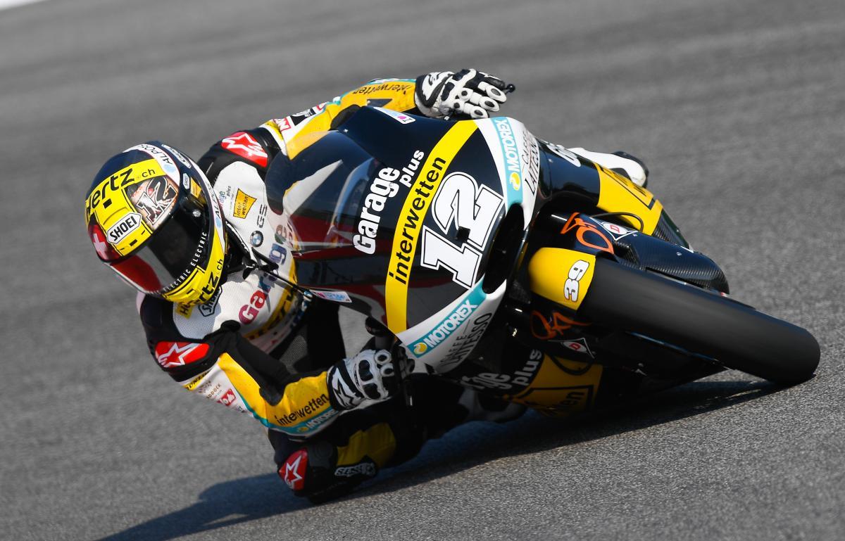 MotoGP Valencia 2016, Thomas Lüthi marca la mejor vuelta del día en Moto2