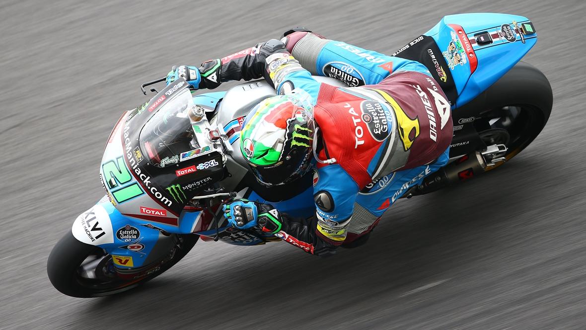 MotoGP Valencia 2016, Franco Morbidelli tritura el crono en Moto2