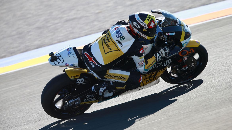 MotoGP Valencia 2016: Luthi y Morbidelli continúan al frente