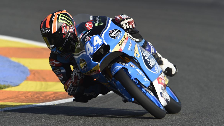 MotoGP Valencia 2016: Arón Canet, pole en casa