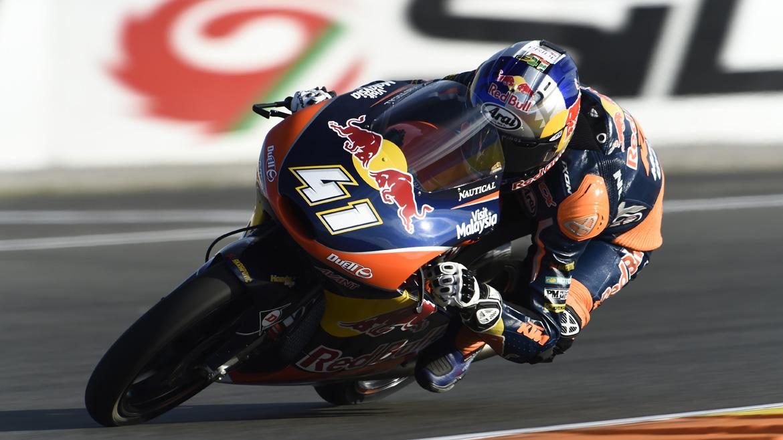MotoGP Valencia 2016: remontadón y victoria de Brad Binder