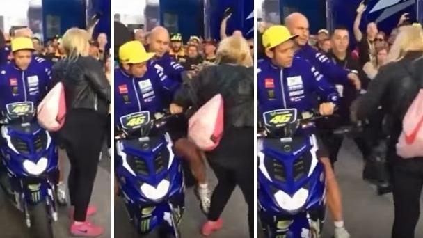 Ana Cabanillas anuncia que denunciará a Valentino Rossi