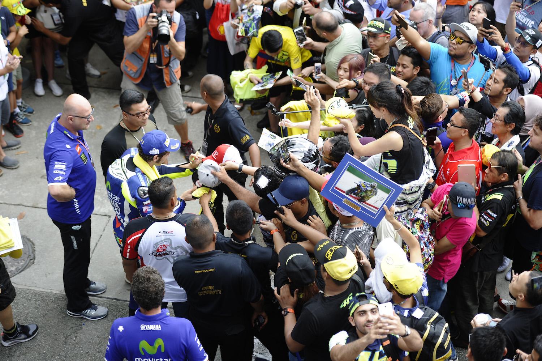 No es fácil ser Valentino Rossi