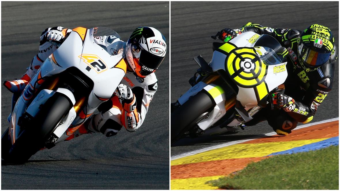 Andrea Iannone y Álex Rins ya han salido a pista con la Suzuki