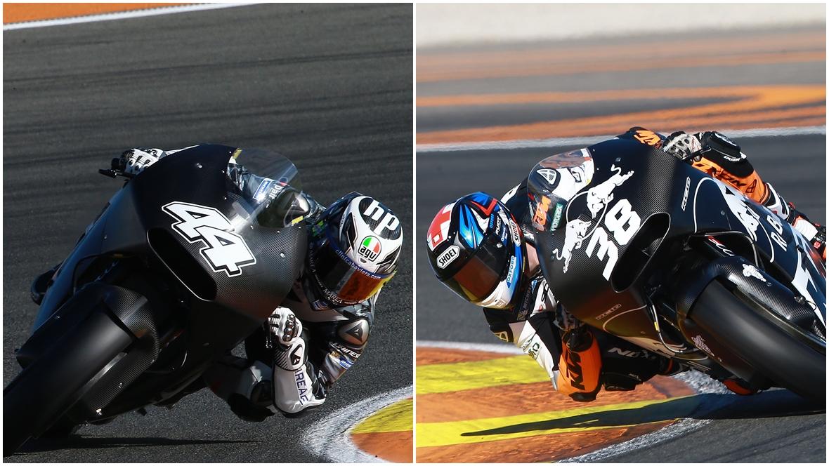 Pol Espargaró y Bradley Smith ya se han subido a la KTM