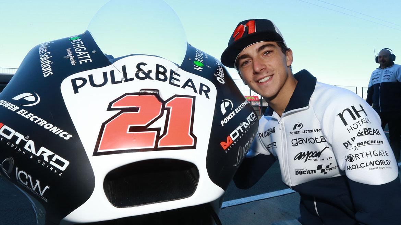 """Pecco Bagnaia: """"He adelantado a Marc Márquez con la MotoGP"""""""