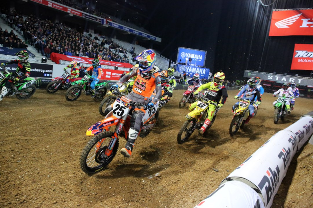 Musquin arrasa en el Supercross de Paris-Lille