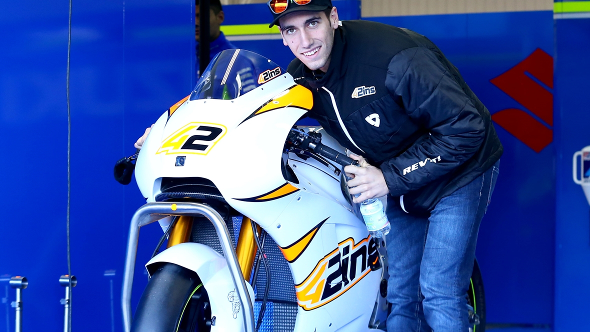"Álex Rins: ""Me imaginaba la Suzuki menos bestia"""