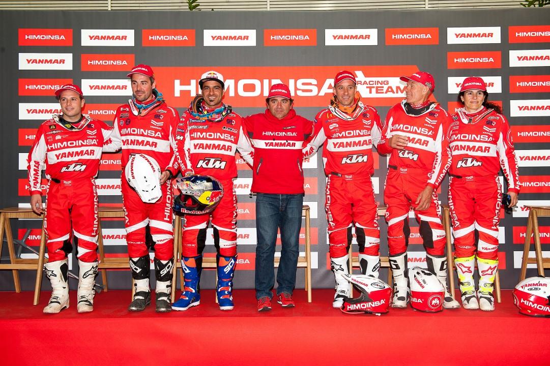 Presentación del equipo HIMOINSA para el Dakar 2017