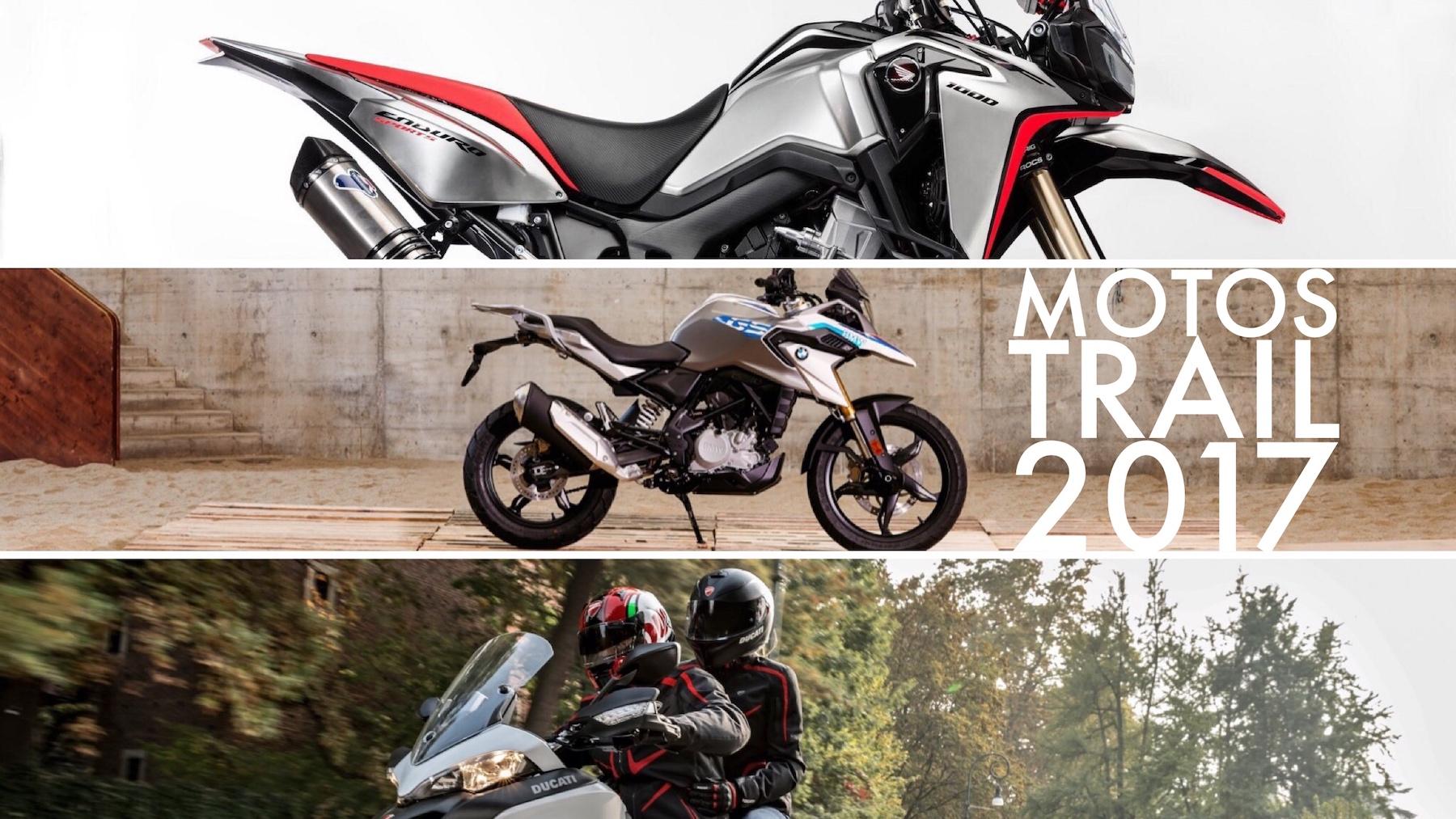 Novedades Motos Trail 2017