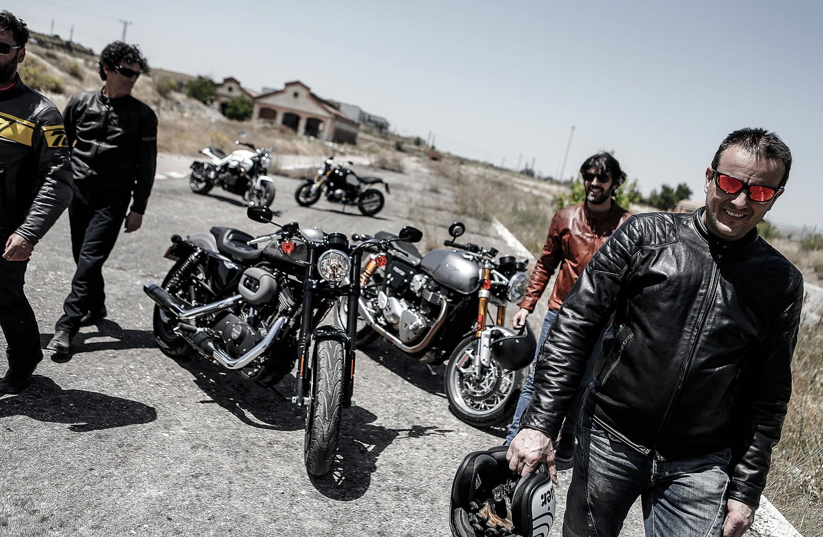 Comparativa motos retro: las motos de ayer muy en forma hoy