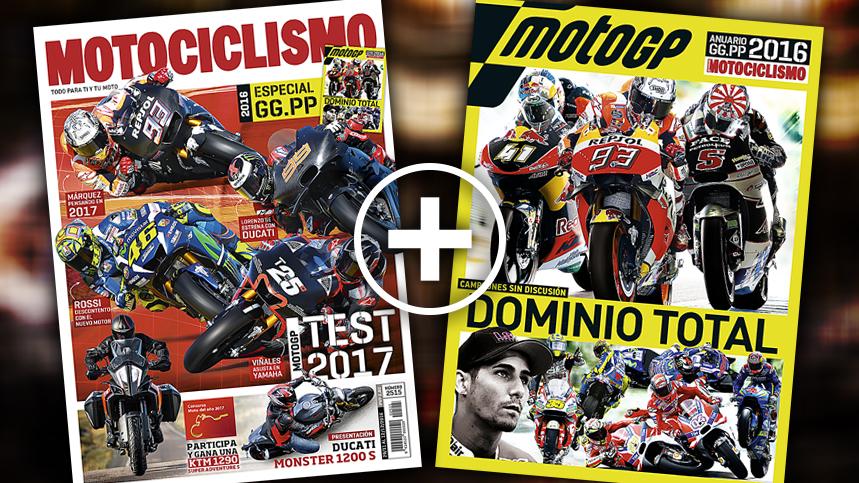 Especial Grandes Premios 2016, con MOTOCICLISMO