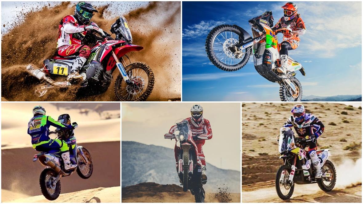 Los 15 pilotos españoles que afrontarán el Dakar 2017 en moto