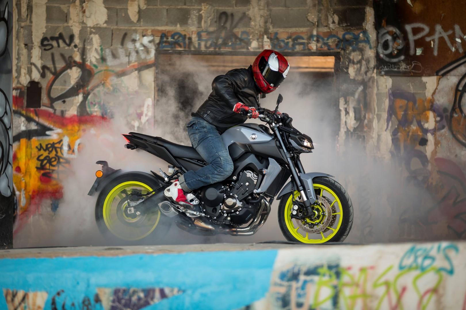 Yamaha MT-09 2017, prueba y primeras impresiones del poder del lado oscuro