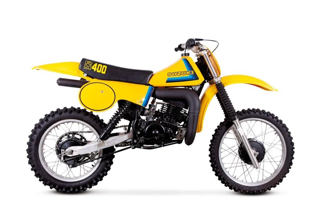 Suzuki RM 400 2T, la primera japonesa en ganar un Mundial de Motocross