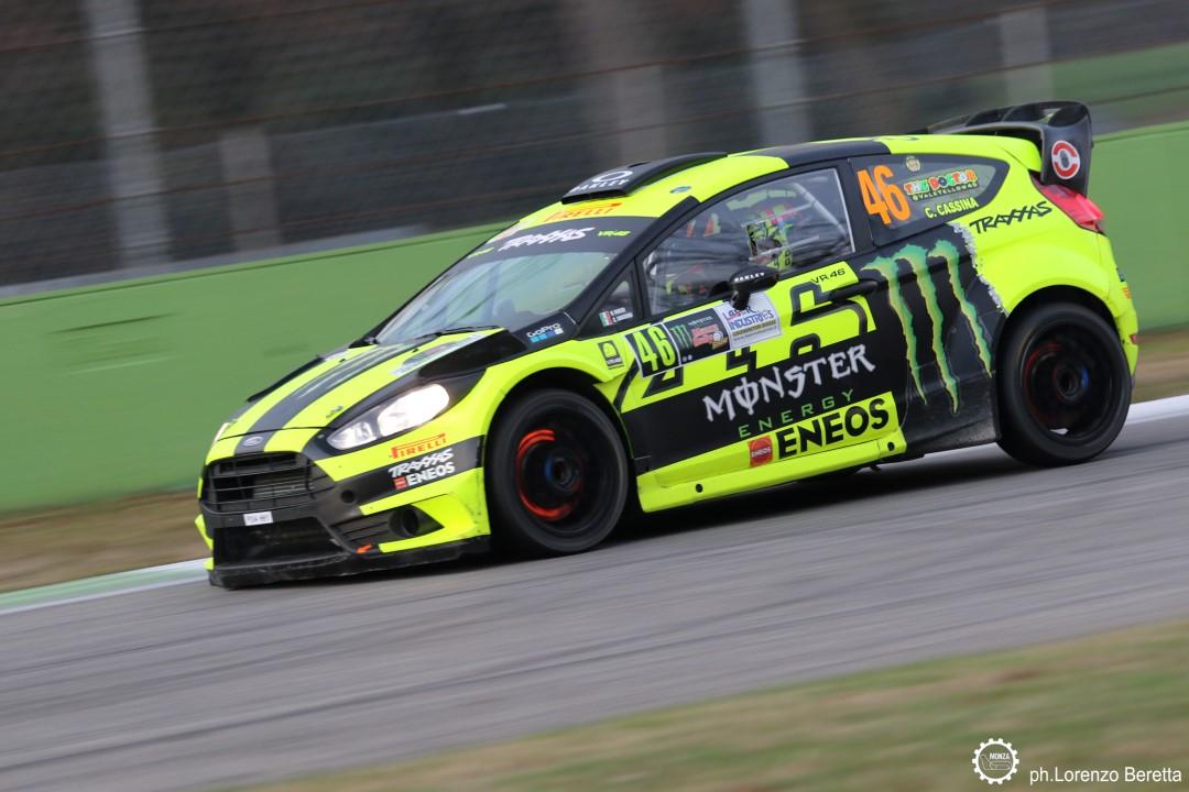 Valentino Rossi gana por quinta vez el Monza Rally Show