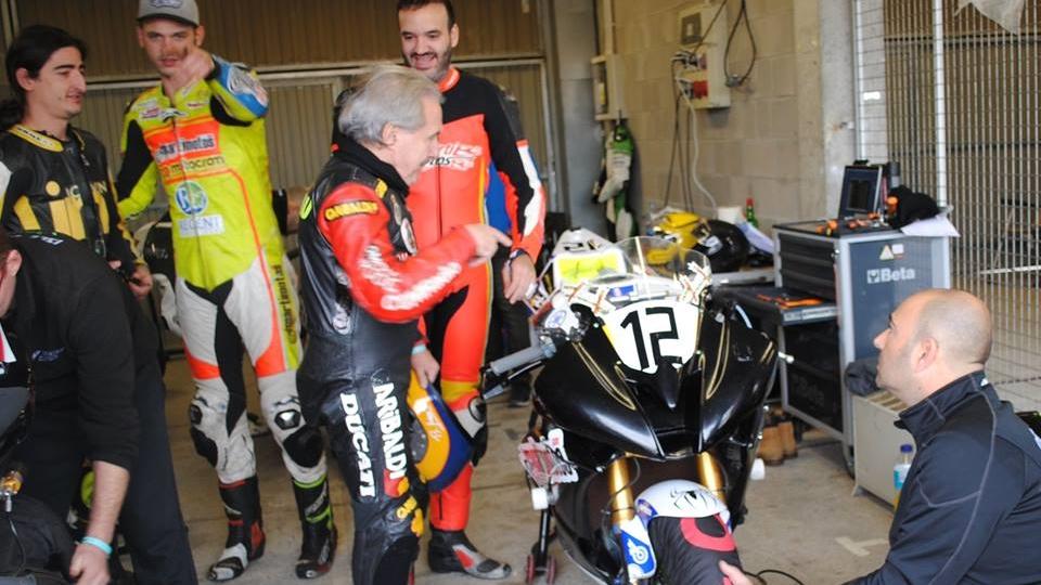 Benjamín Grau quiere correr el Isle of Man Classic TT 2017 con 72 años