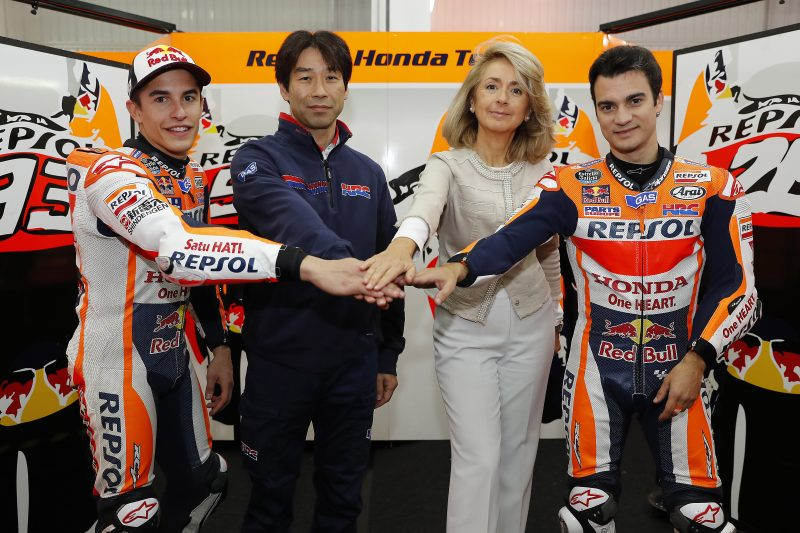 Repsol y Honda seguirán juntos en MotoGP hasta 2018