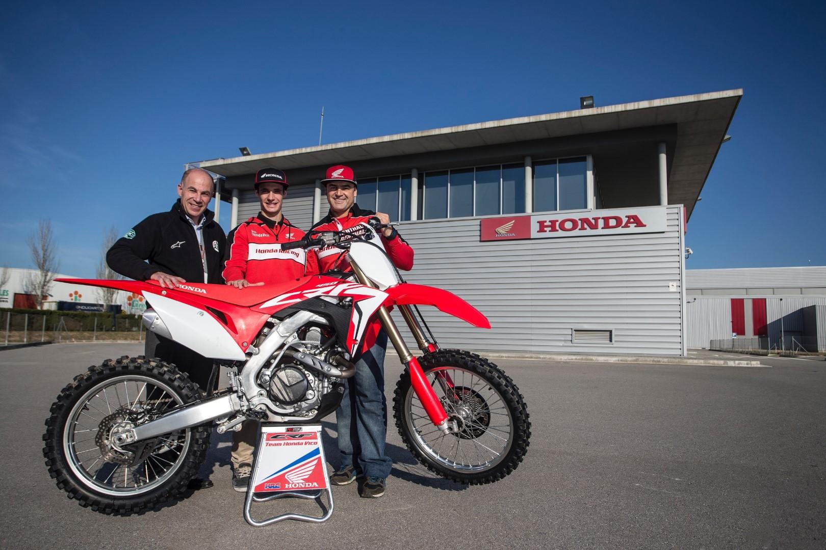 Ander Valentin, nuevo piloto Honda de motocross