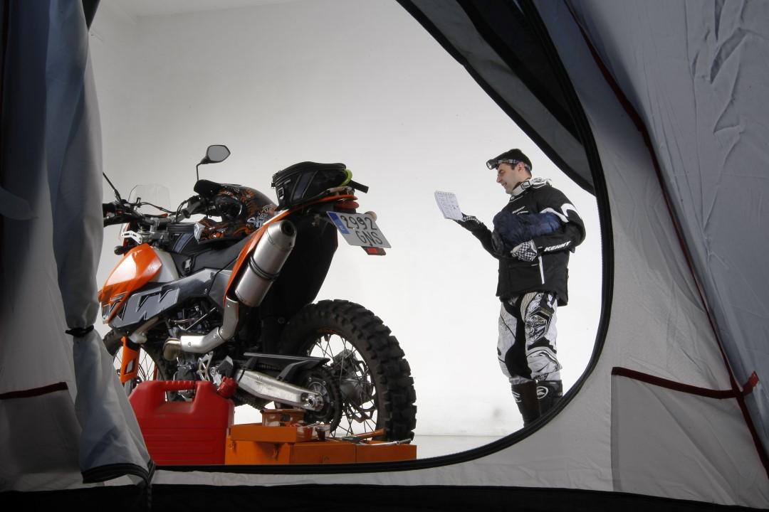 Cómo preparar tu moto para la aventura