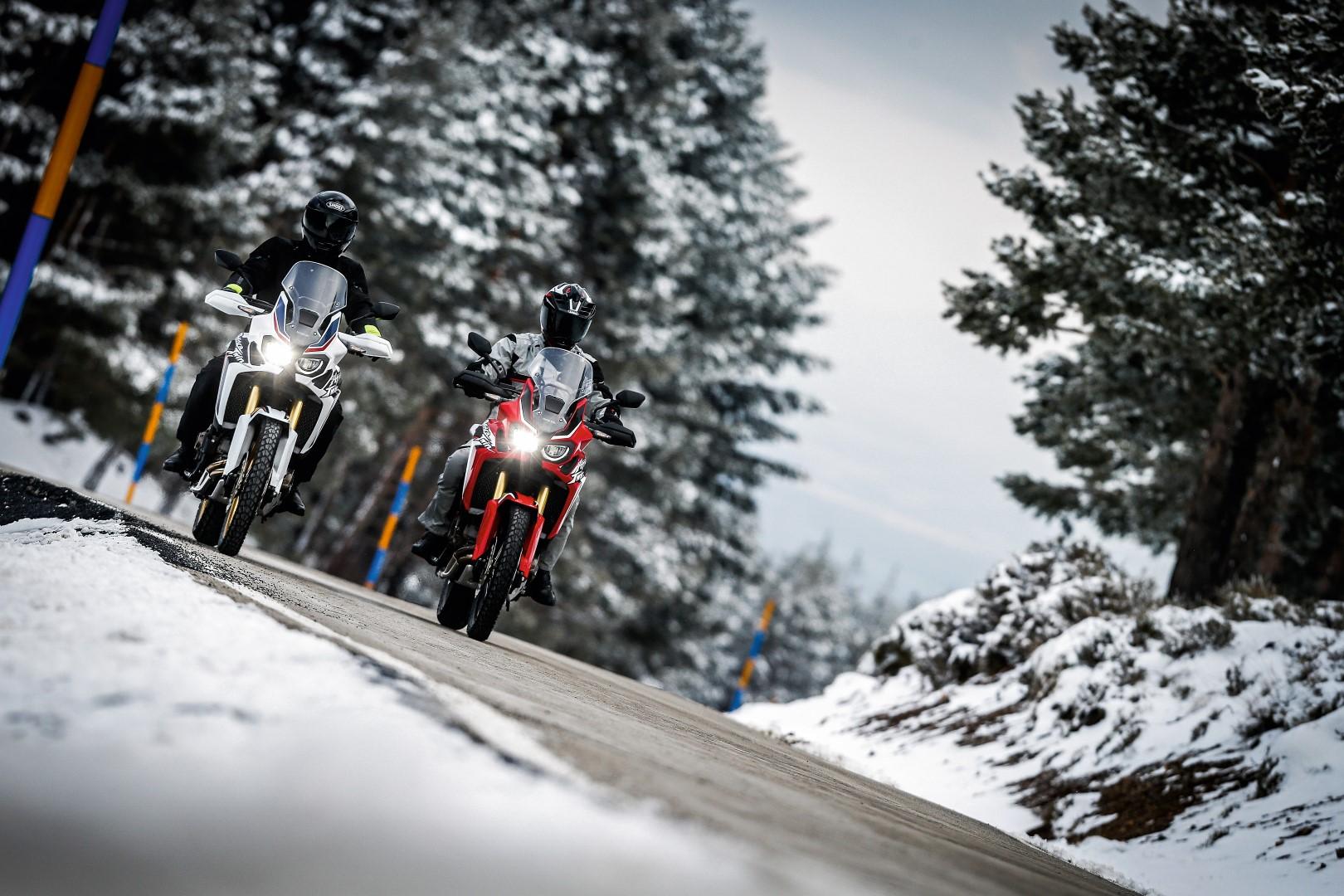 Especial invierno en moto y regalos para Navidad