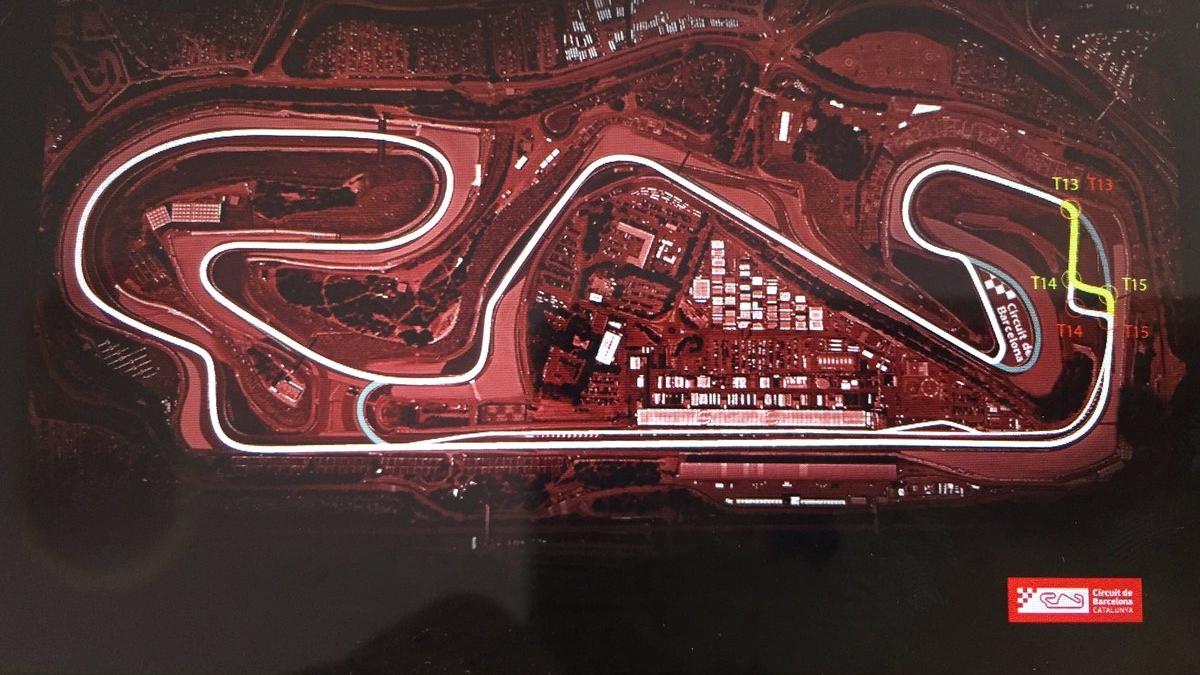 El Circuit de Barcelona-Catalunya será modificado para MotoGP