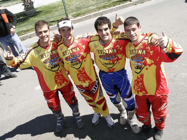 España vence el Trofeo Junior y Club de los Seis Días de Enduro