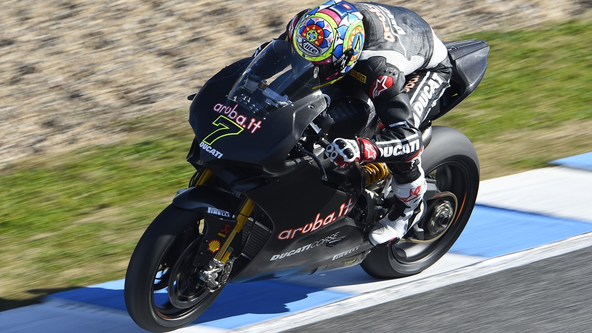 Chaz Davies se subirá a la Ducati de MotoGP